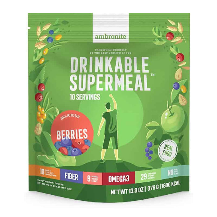 Ambronite Drinkable Supermeal Berries