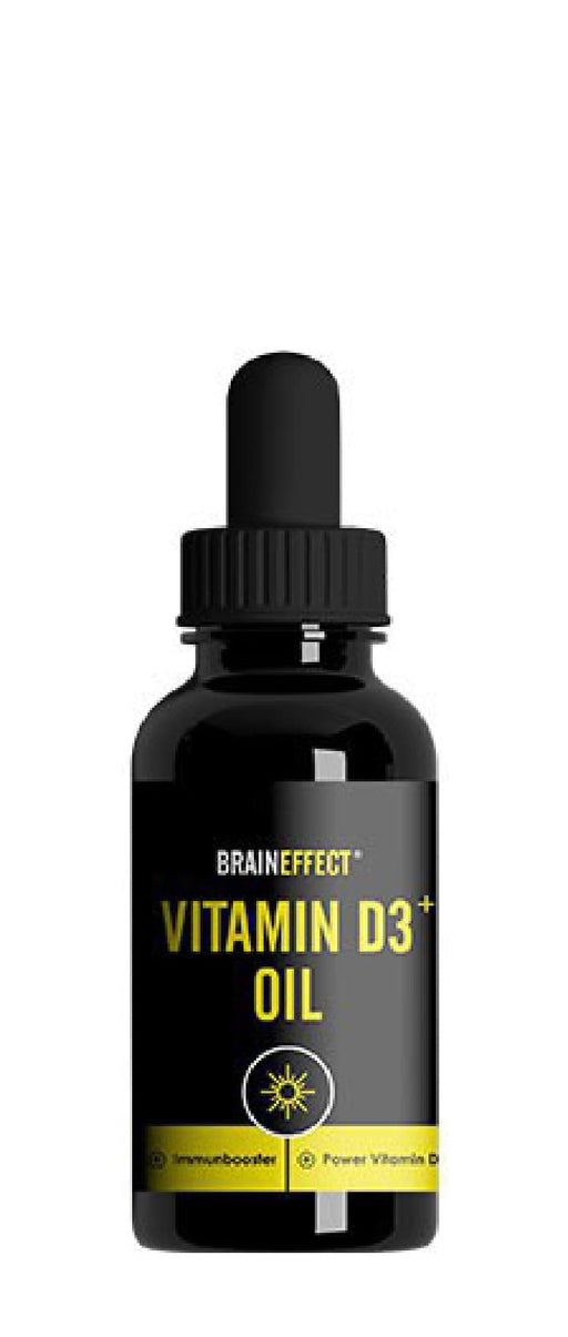 BrainEffect Vitamine D3+ Oil