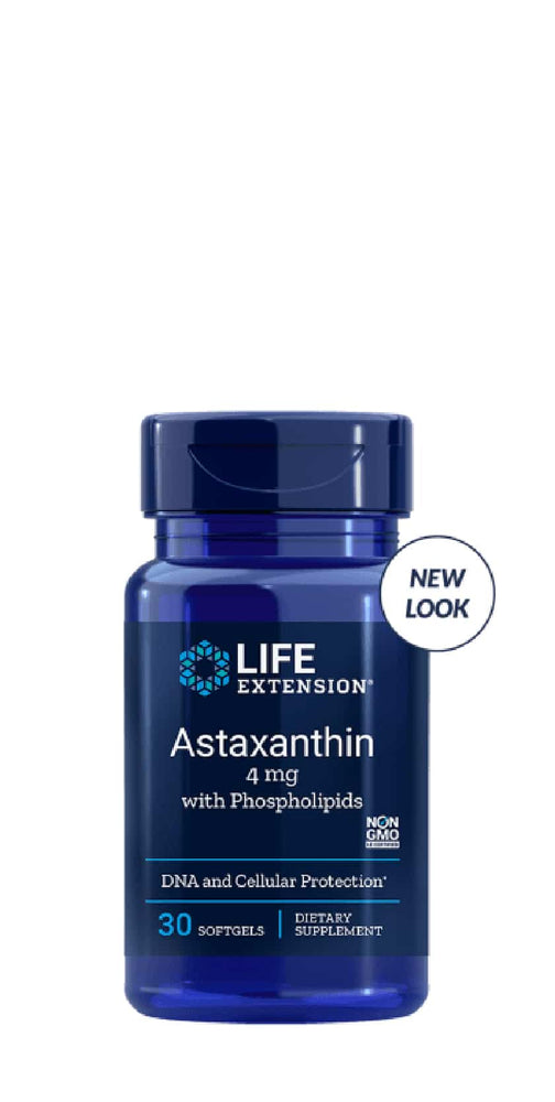 Life Extension Astaxanthine with phospholipids