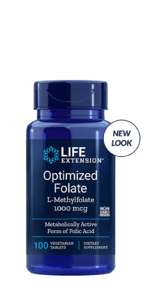 Life Extension Optimized Folate