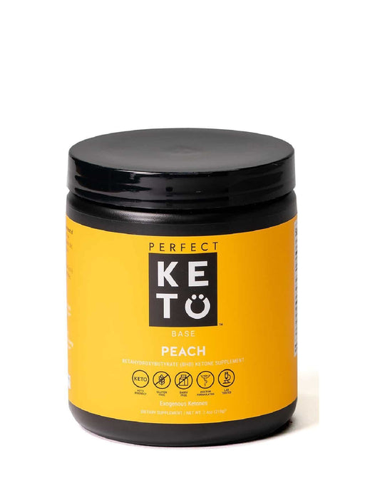Perfect Keto Exogenous Ketone Base Peach