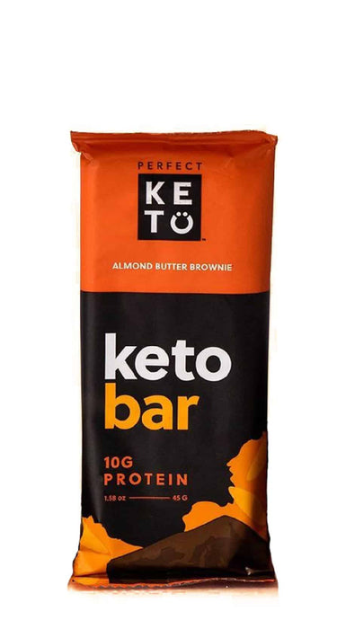 Perfect Keto Bars Almond Butter Brownie