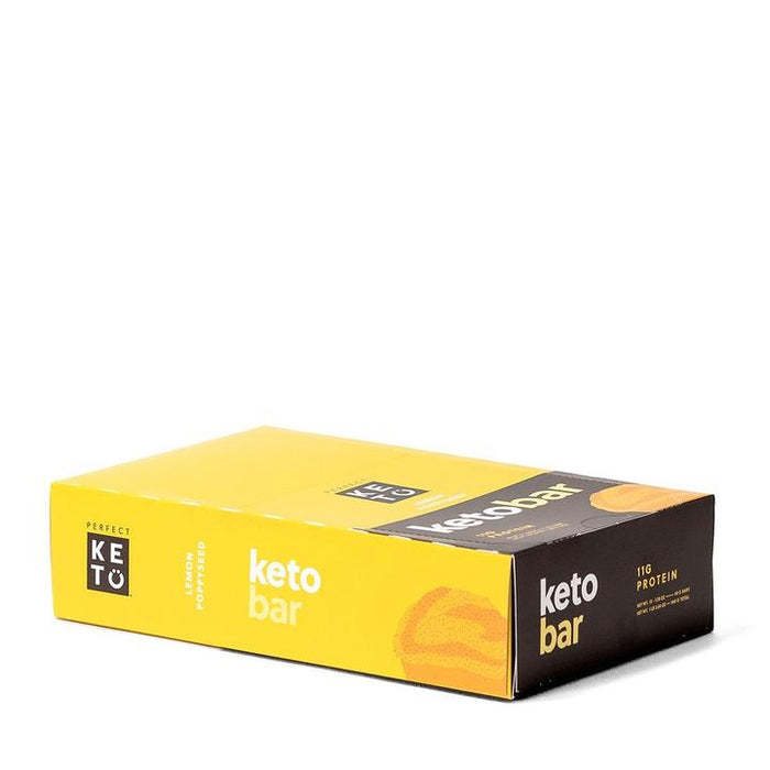 Perfect Keto Bars Lemon Poppyseed 2