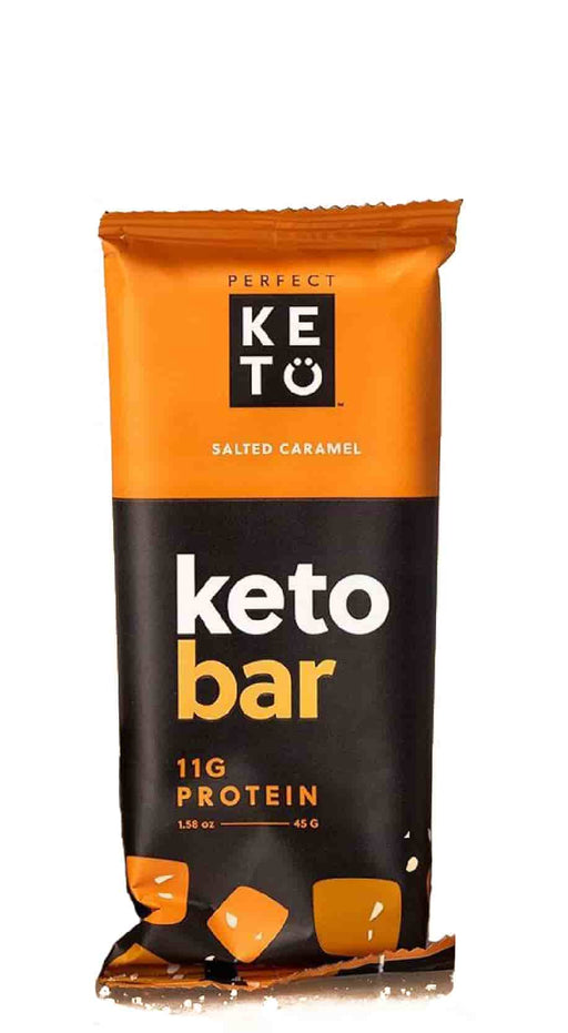 Perfect Keto Bars Salted Caramel