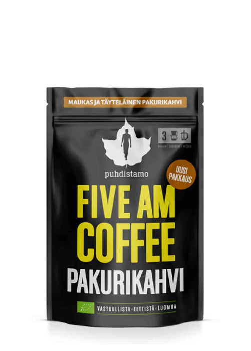 Puhdistamo Five AM Coffee Chaga