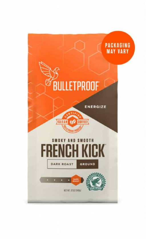 Bulletproof Koffie French Kick Dark Roast kopen | gemalen 340 gr