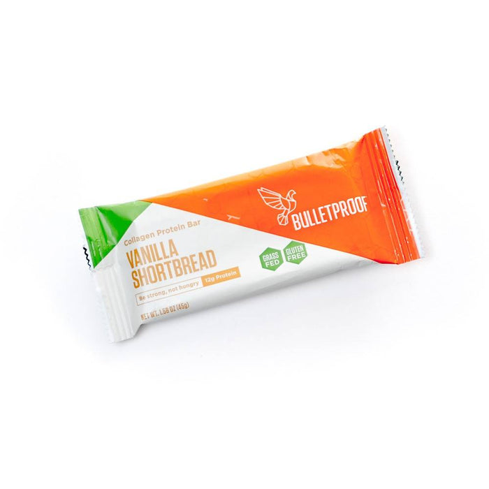 Eiwitrepen | Bulletproof Vanilla Shortbread Collagen Protein Bars