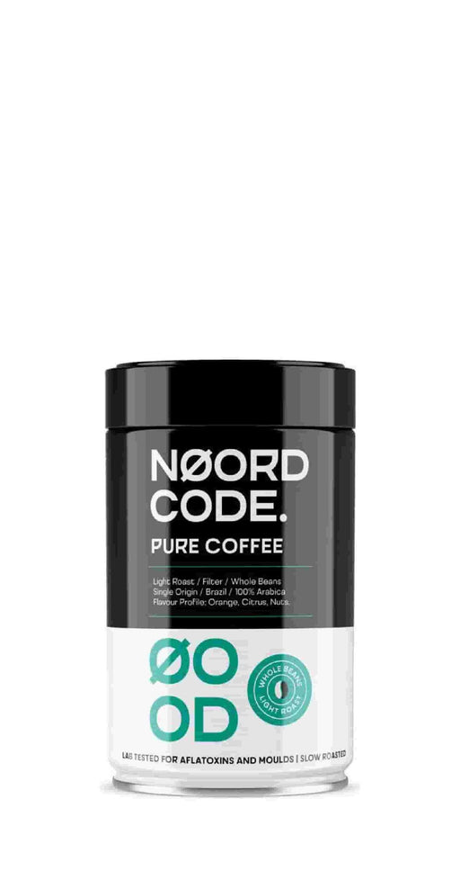 NoordCode Pure Coffee Light Roast Whole Beans 250g