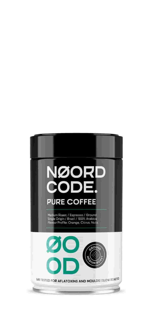NoordCode Pure Ground Coffee Medium Roast 250g