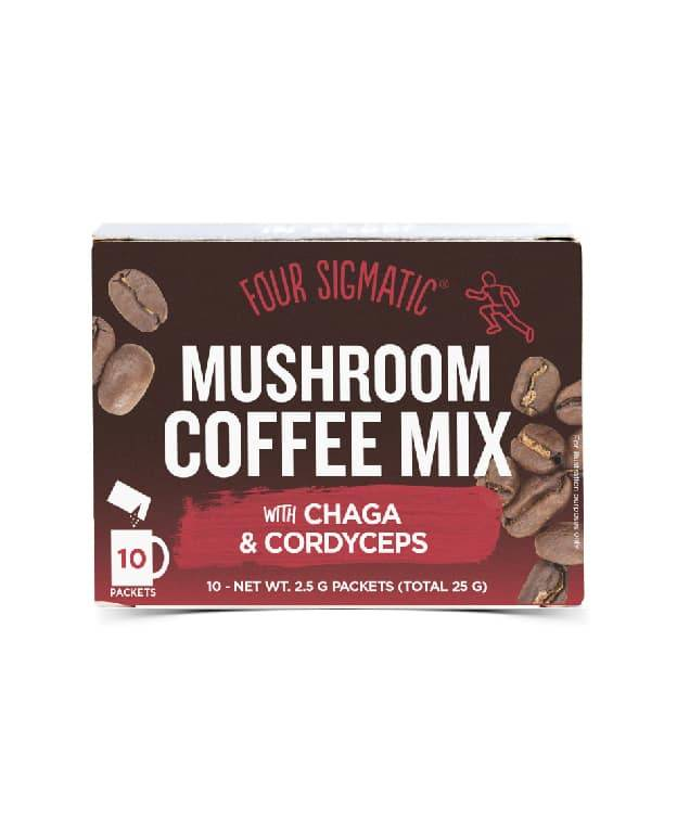 Chaga and Cordyceps Musroom Coffee