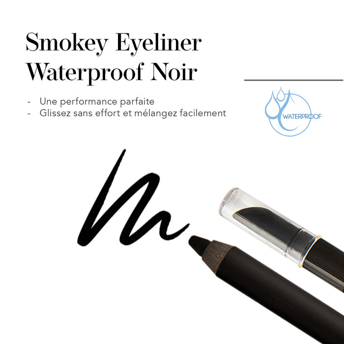 Smokey Eyeliner Waterproof Noir