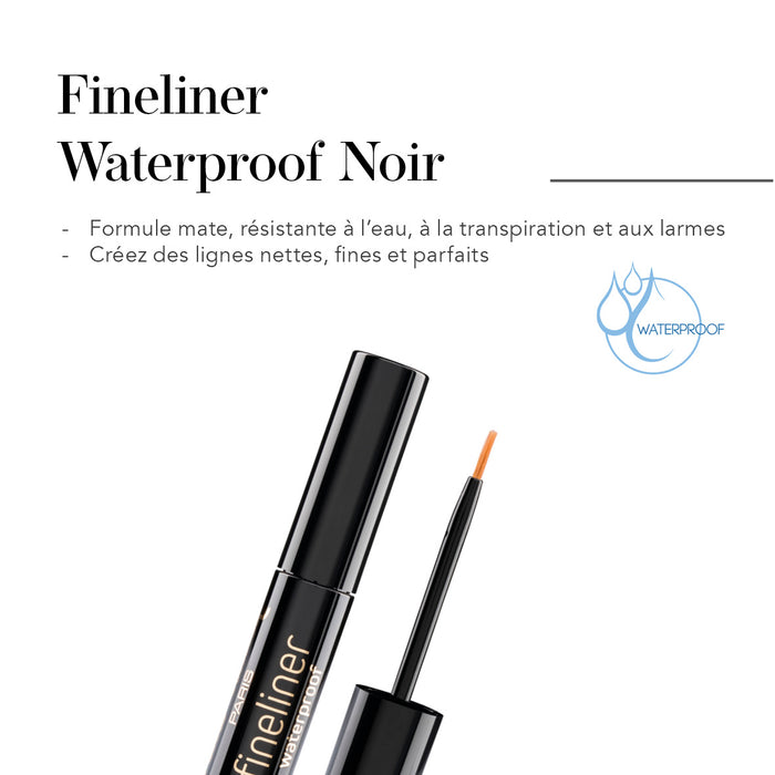 Fineliner Waterproof Noir