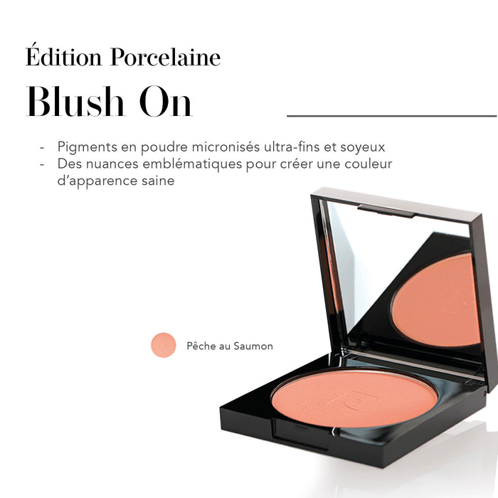 Édition Porcelaine Blush On Pêche au Saumon