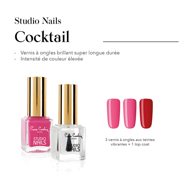 Cocktail Set de 4 Vernis à Ongles Studio Nails