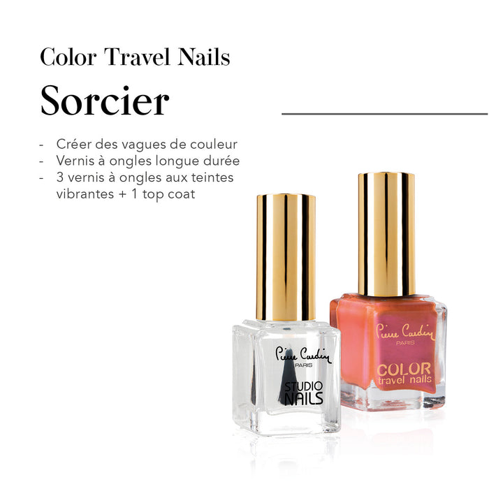 Sorcier Set de 4 Vernis à Ongles Color Travel Nails