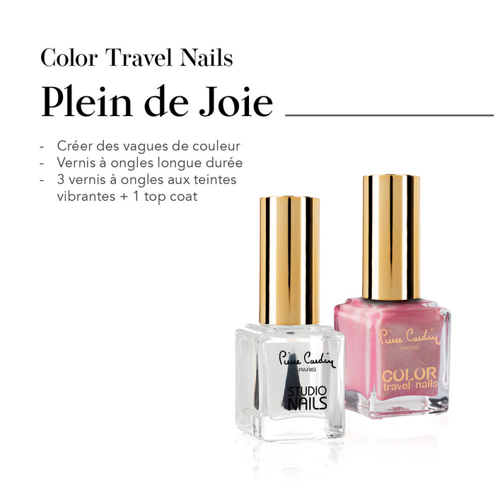 Plein de Joie Set de 4 Vernis à Ongles Color Travel Nails