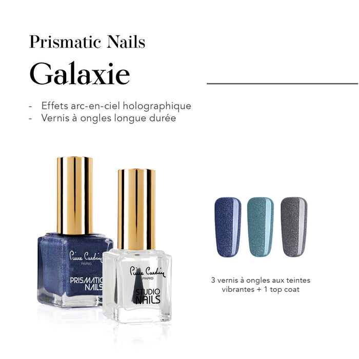 Galaxie Set de 4 Vernis à Ongles Prismatic Nails