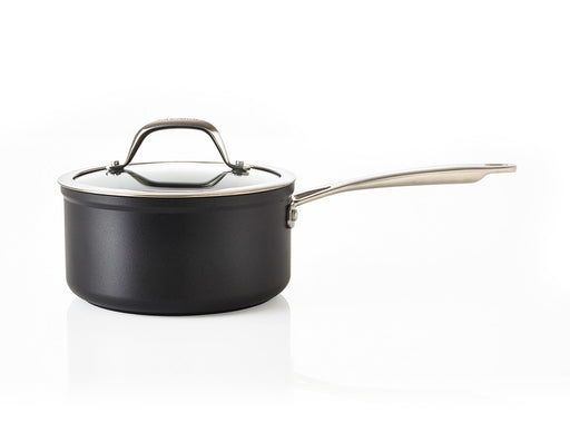 Saucepan with glass lid