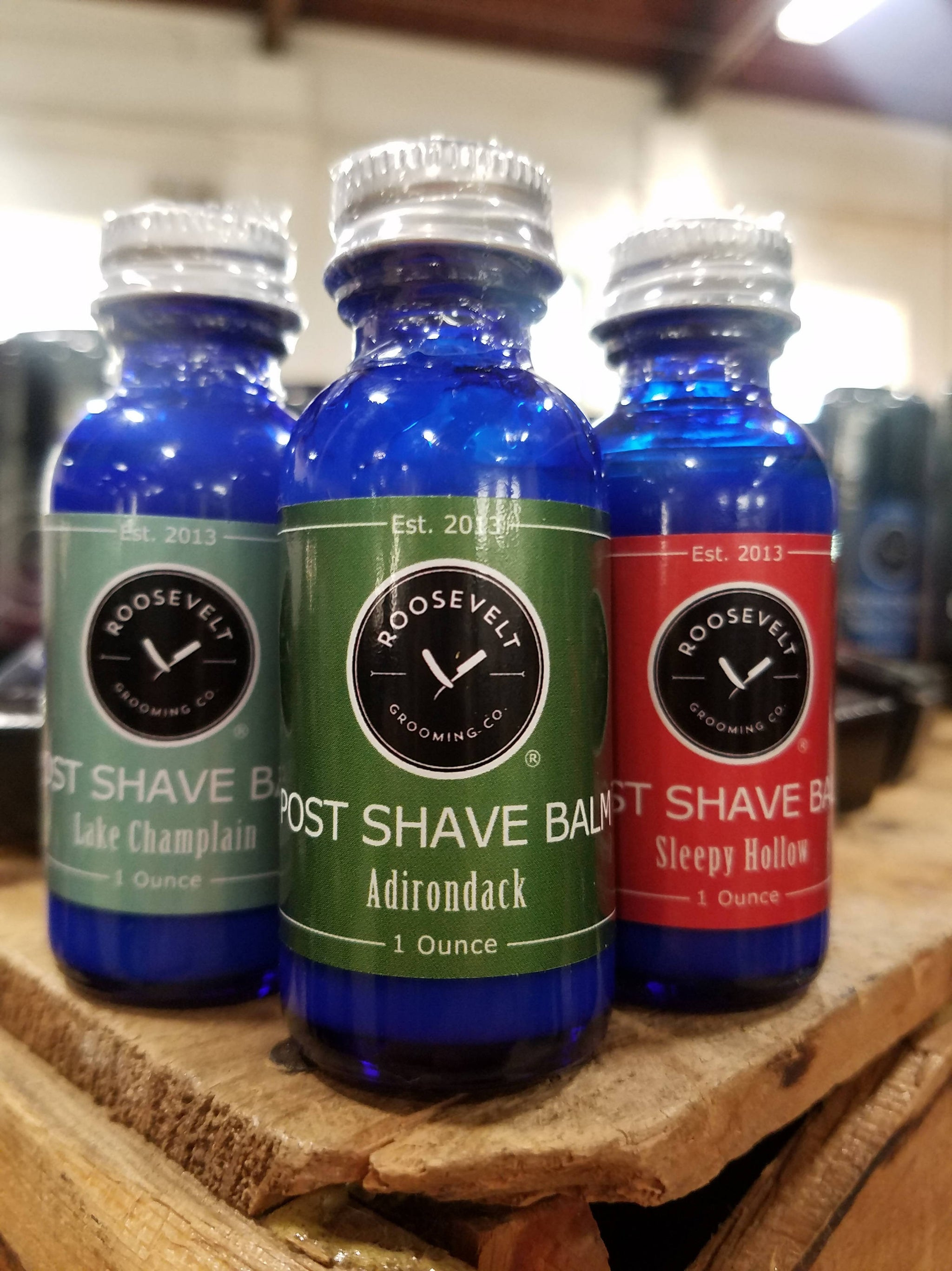 Post Shave Balm - Alcohol-Free with Witch Hazel and Aloe