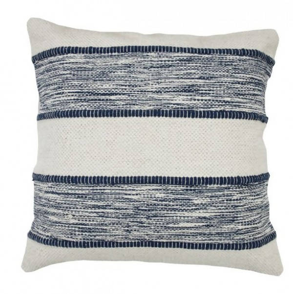 Handwoven Pillow/KC 103 IV NVY 22