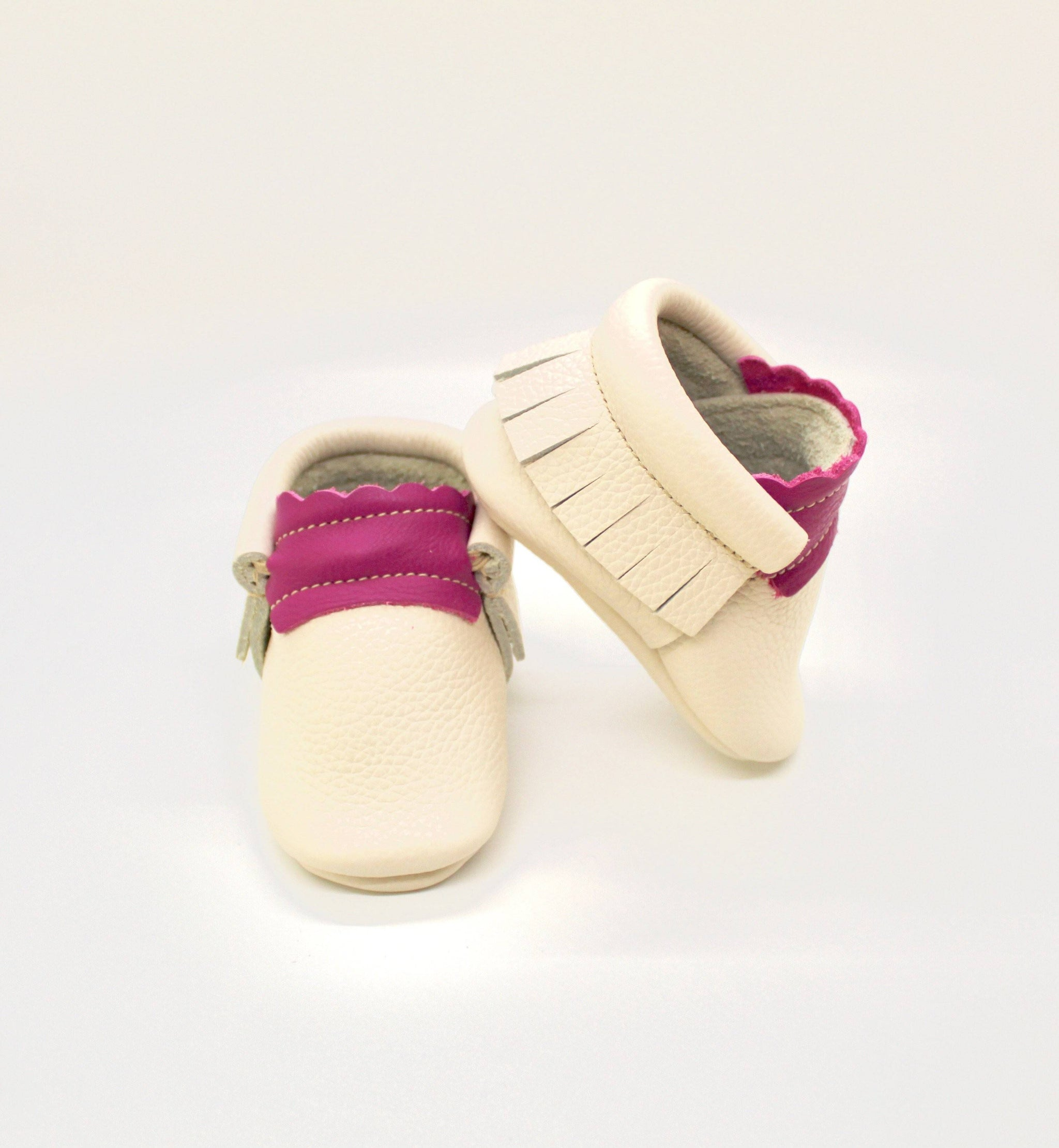 Raspberry Cream - Moccs