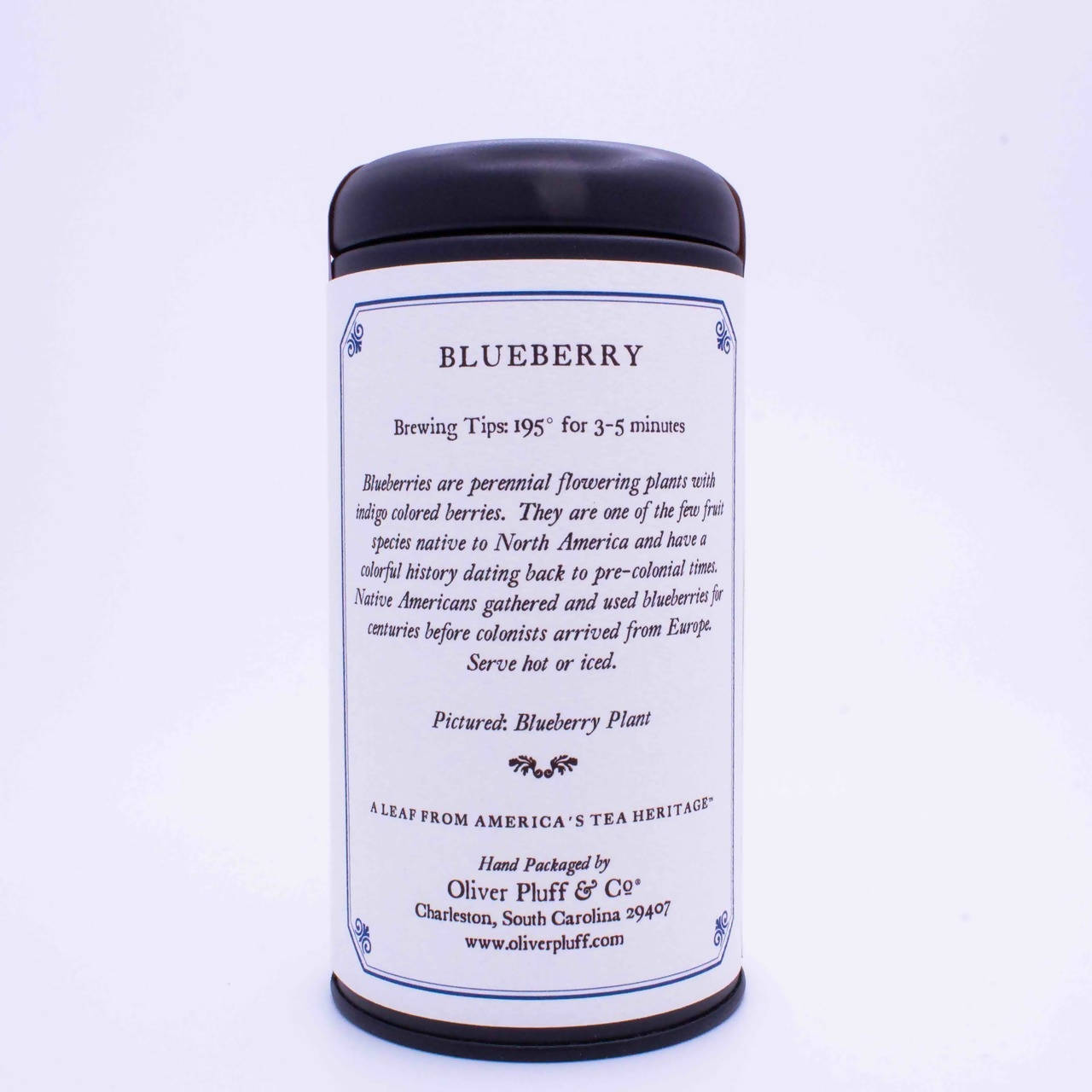 Blueberry - Loose Tea in Signature Tea Tin