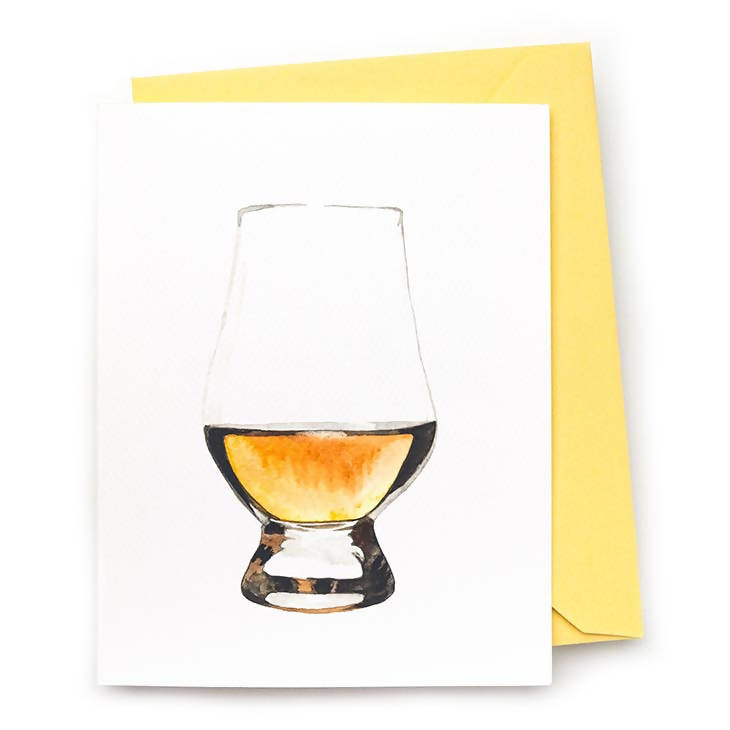 Scotch Whisky Note Card, Set of 8