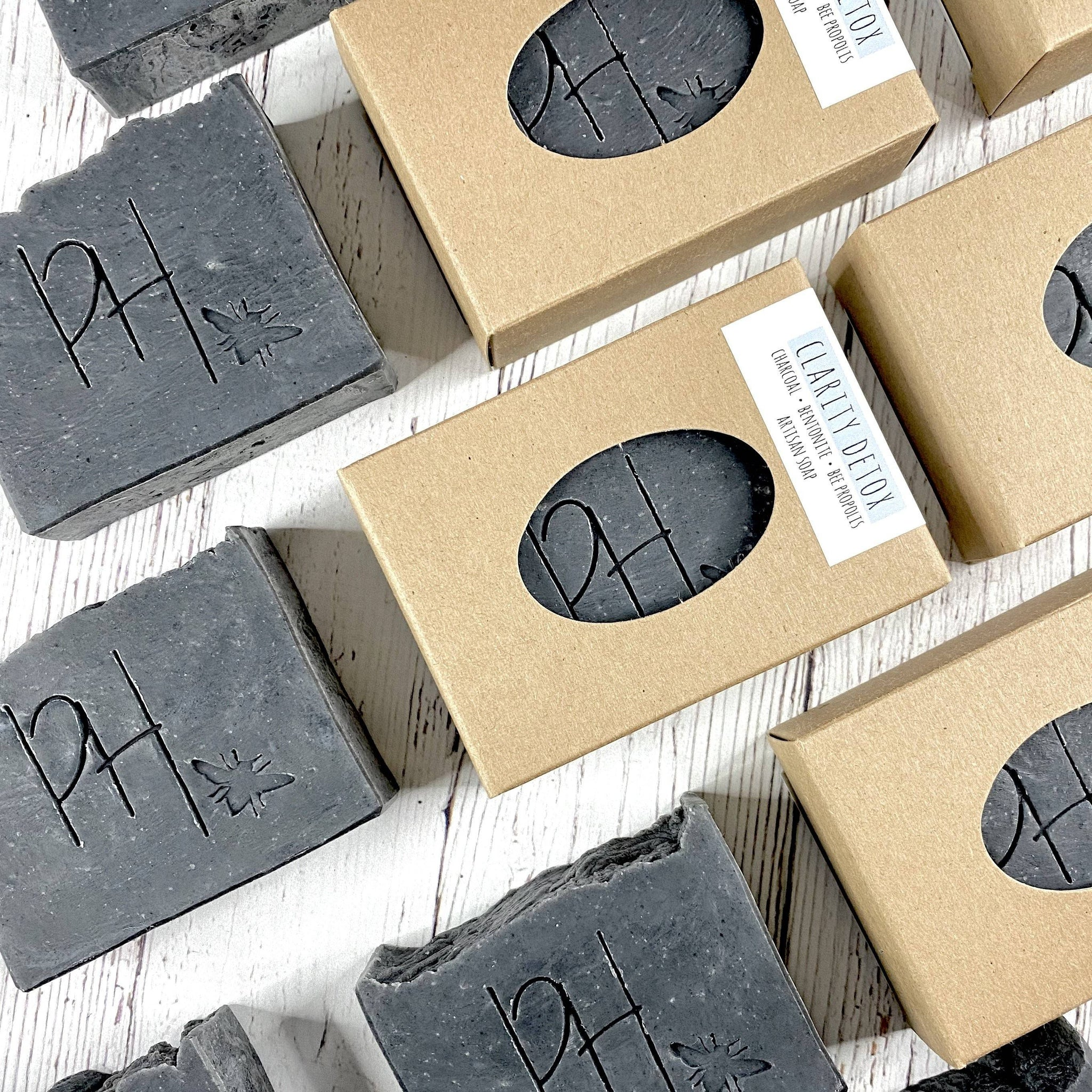 Clarity Artisan Soap | Charcoal & Bentonite