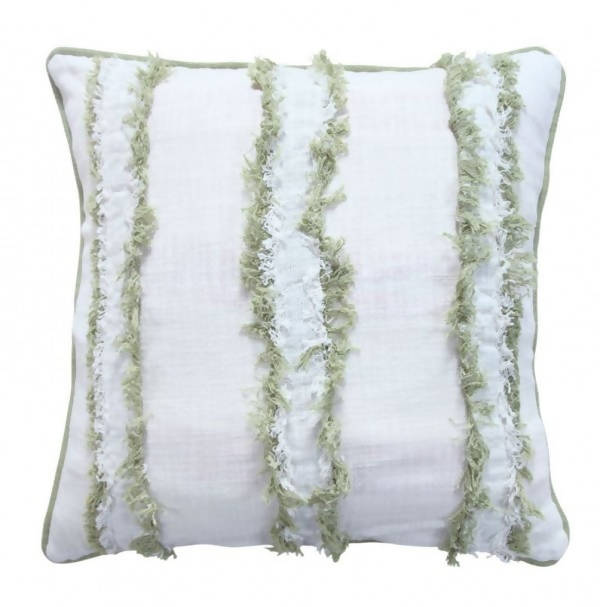 Handwoven Decorative Pillow/AD 543 IVR LME 22