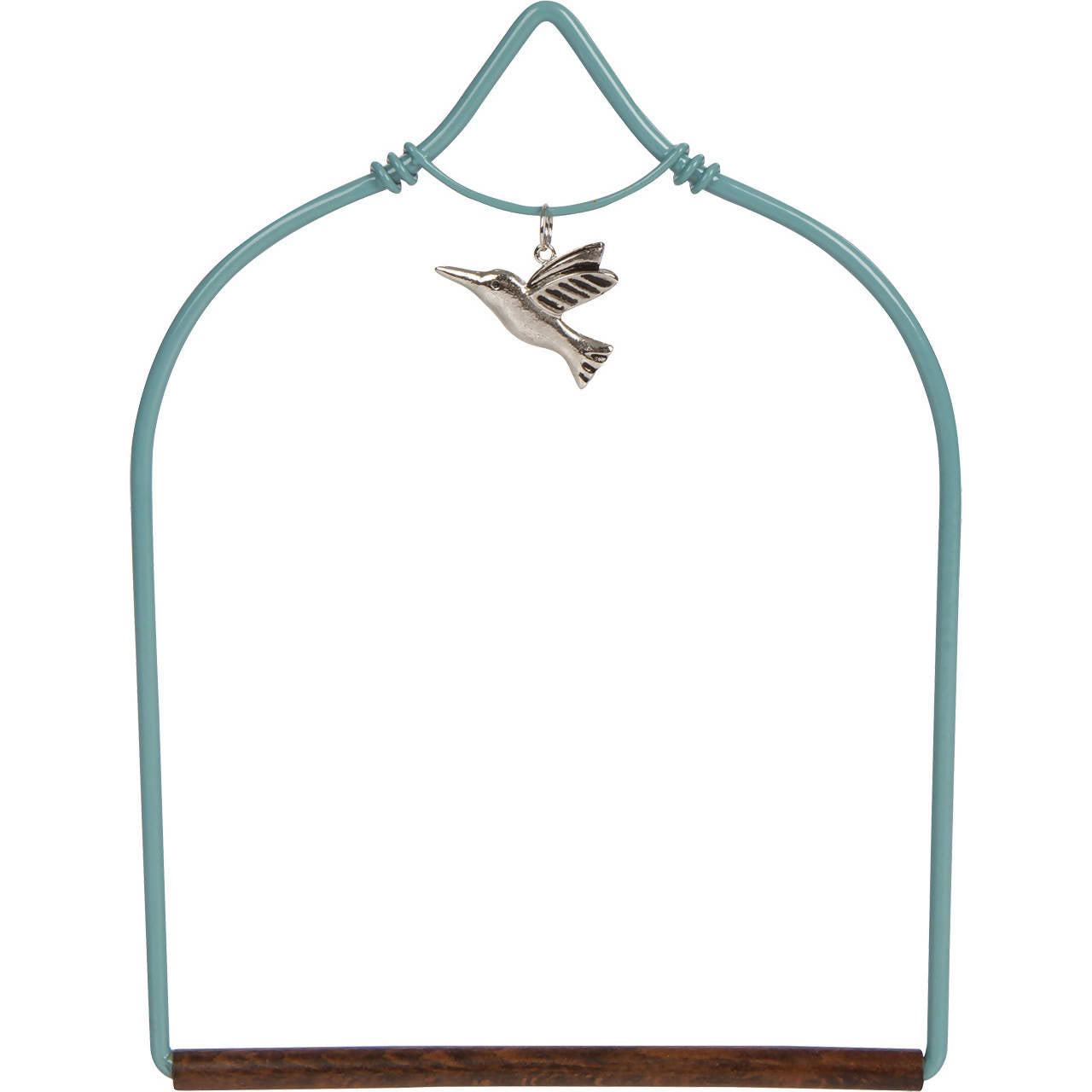 Pops Hummingbird Swing - Charmed Teal