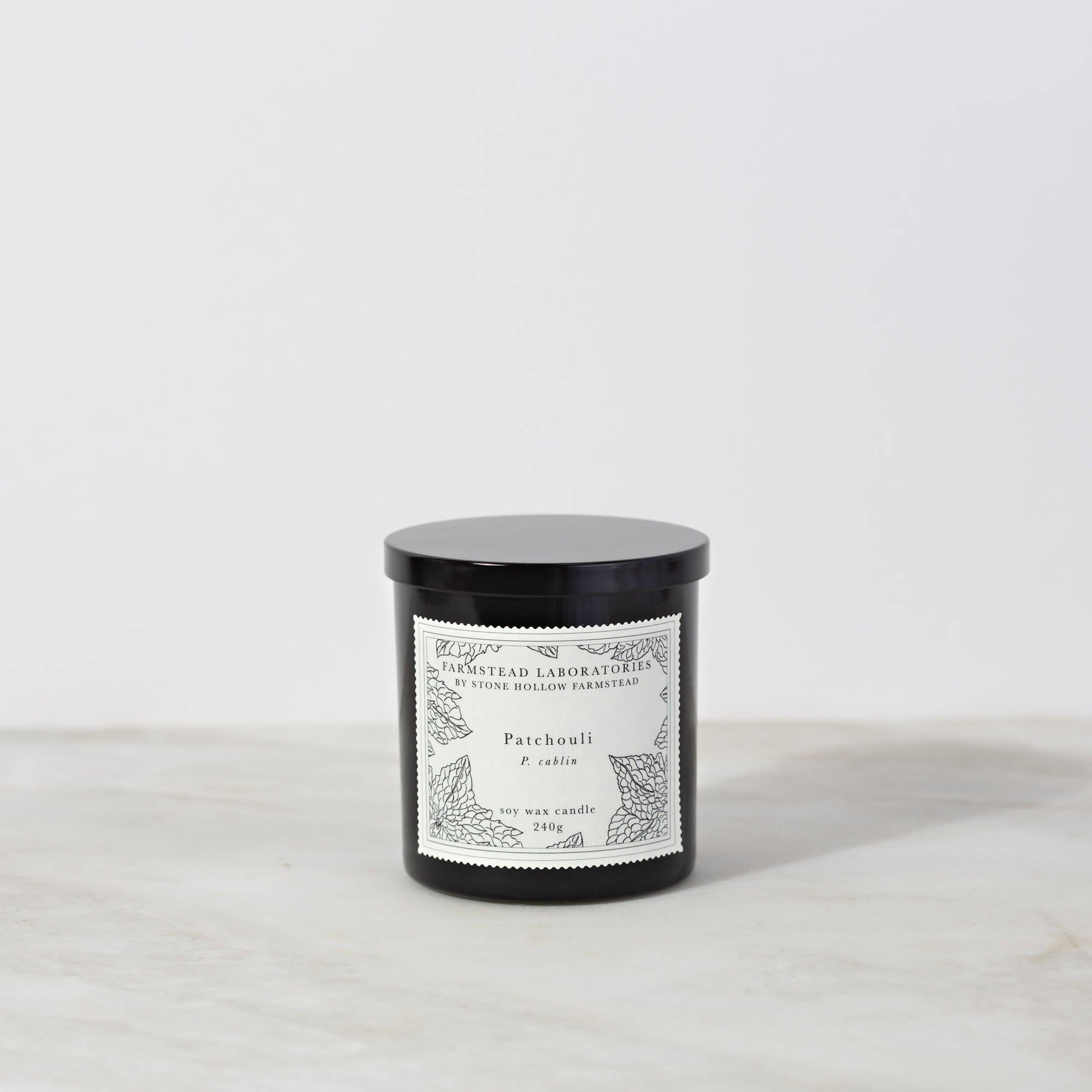 BOTANICAL SOY WAX CANDLE / PATCHOULI