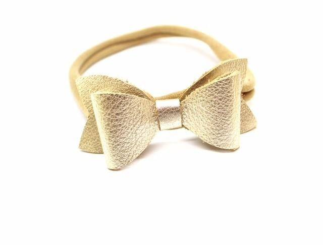 Headbands Champagne - Leather