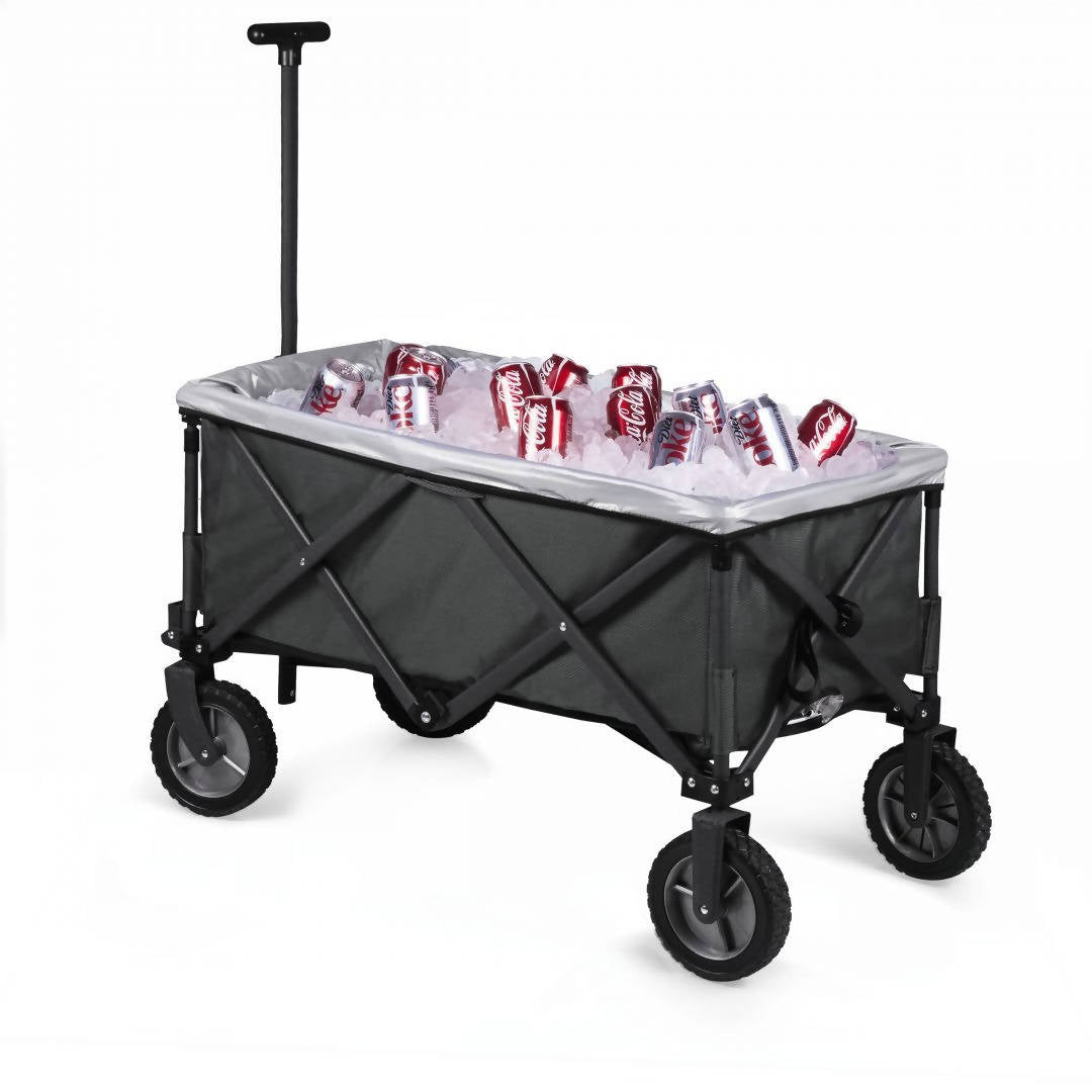 Adventure Wagon Elite Portable Utility Wagon with Table & Liner