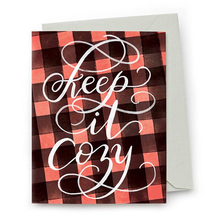 Keep It Cozy Card
