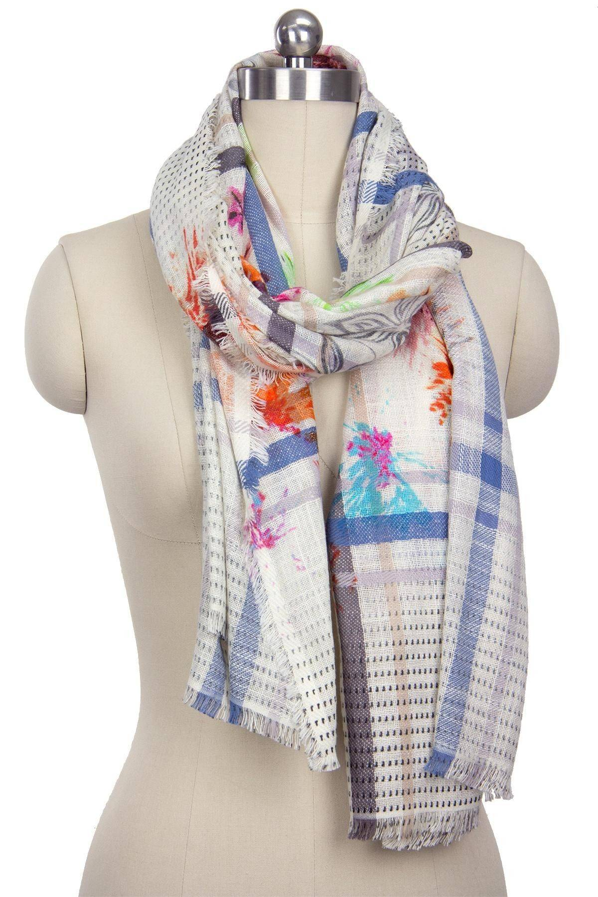 Beautiful Mix Farm Scarf