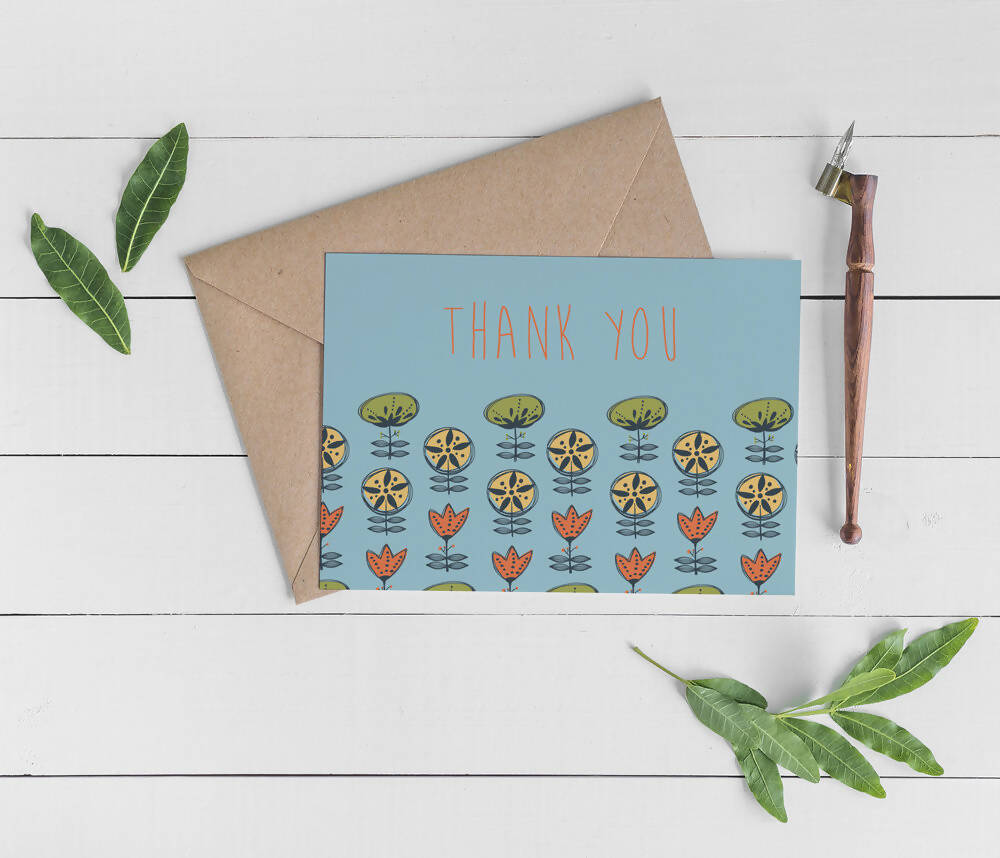 MOD THANK YOU - BOXED NOTECARD SET