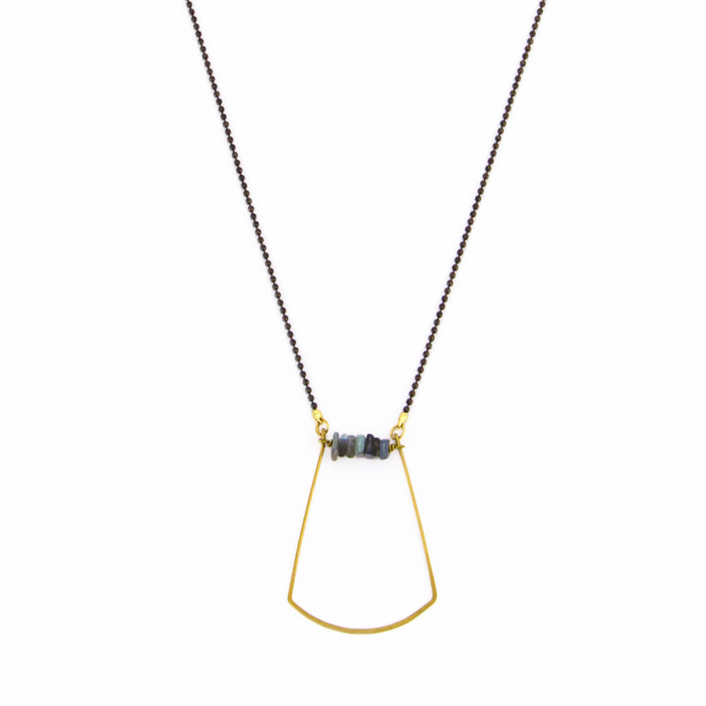 Heishi Harp Necklace