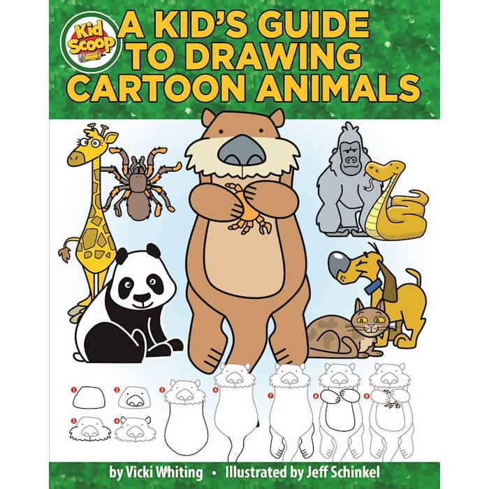 A Kid's Guide to Drawing Cartoon Animals
