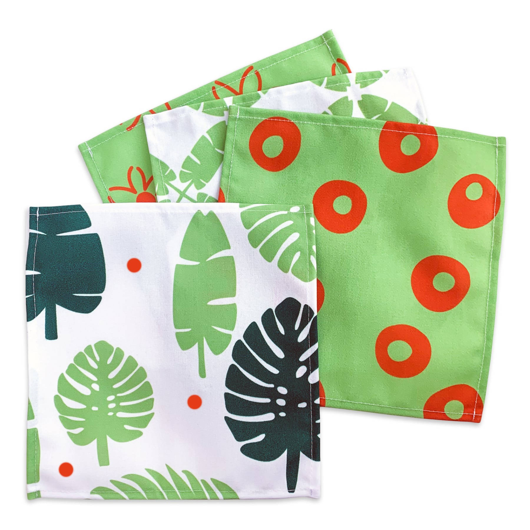 Cocktail Napkins - Palms & Plants Set of 4