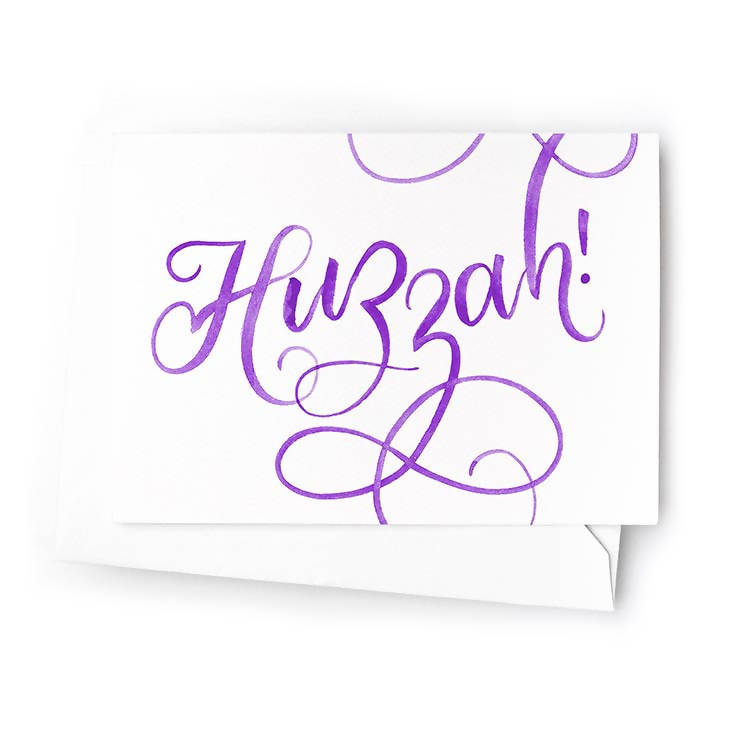 Huzzah Mini Cards, Set of 6