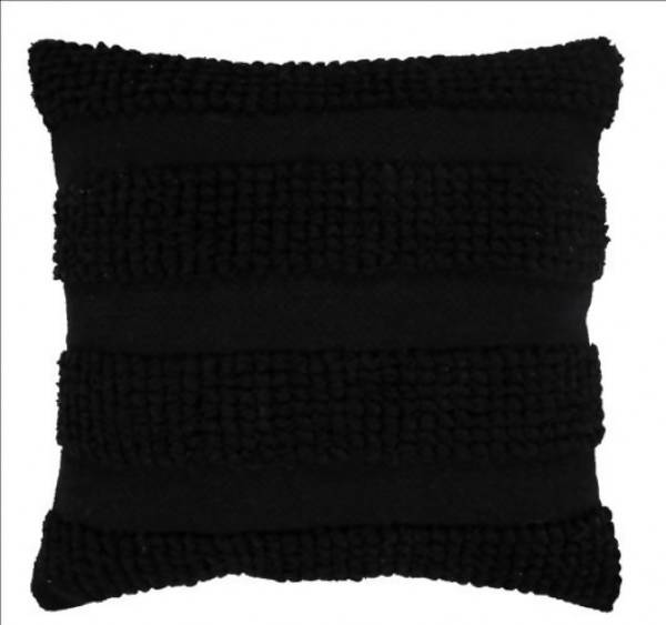 Handwoven Pillow/KC 36 BLK 22