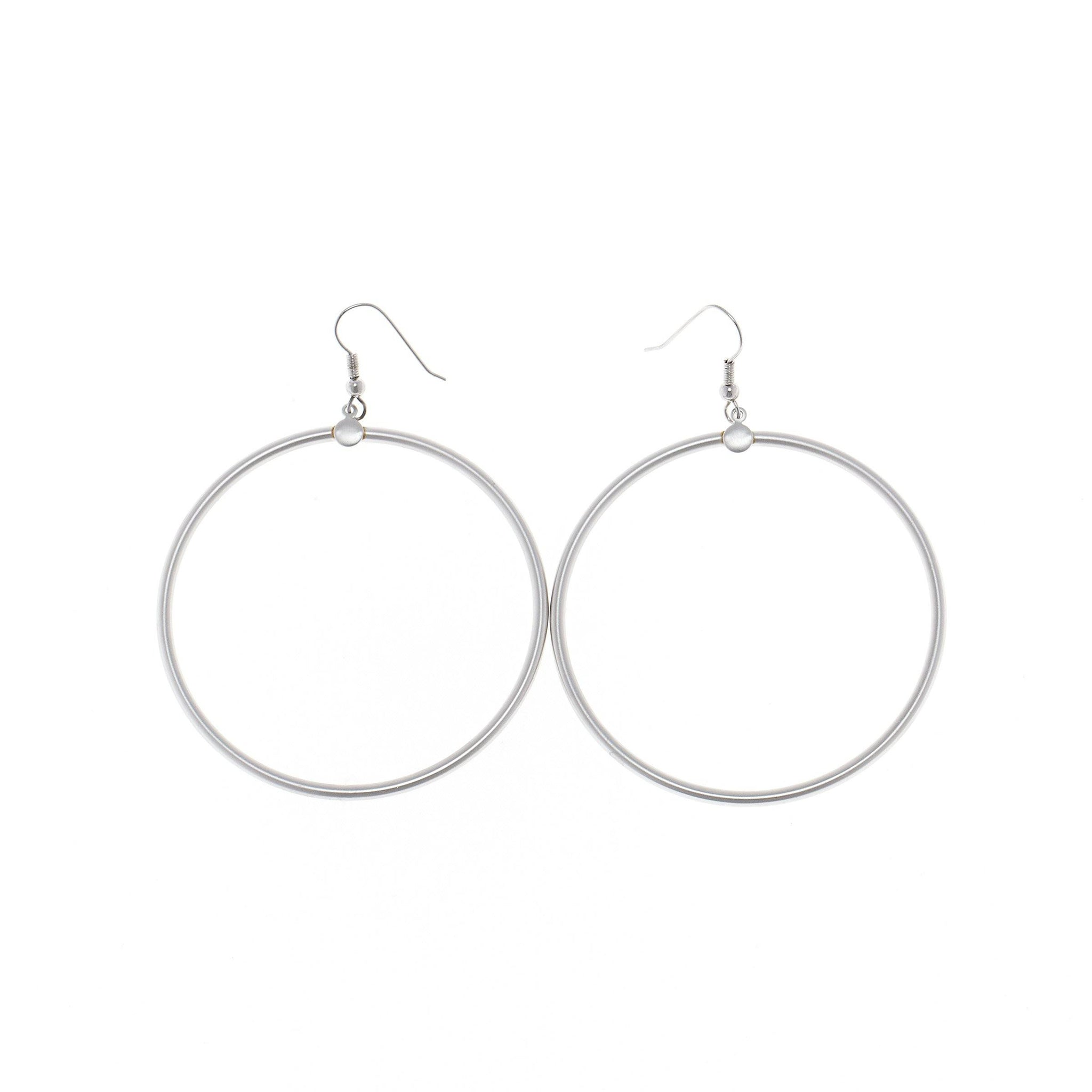 Nasa Simple Hoop Earrings
