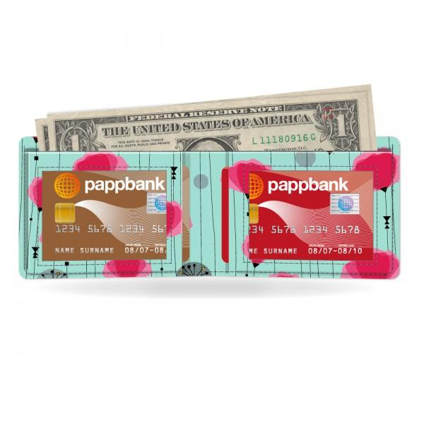 Paperlike Card Wallet Coquelicot