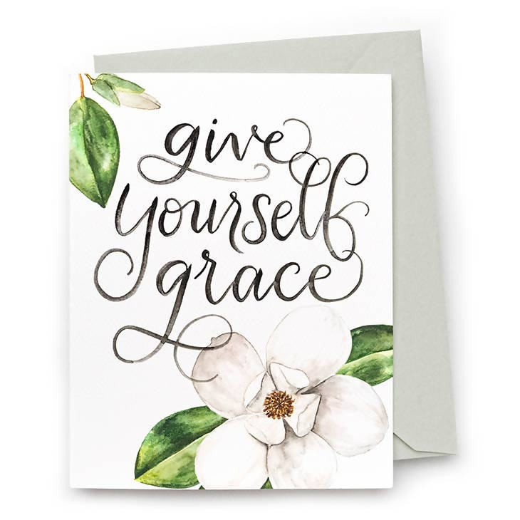 Give Yourself Grace Card