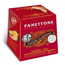 Chocolate Chip Panettone, cardboard box, 100g