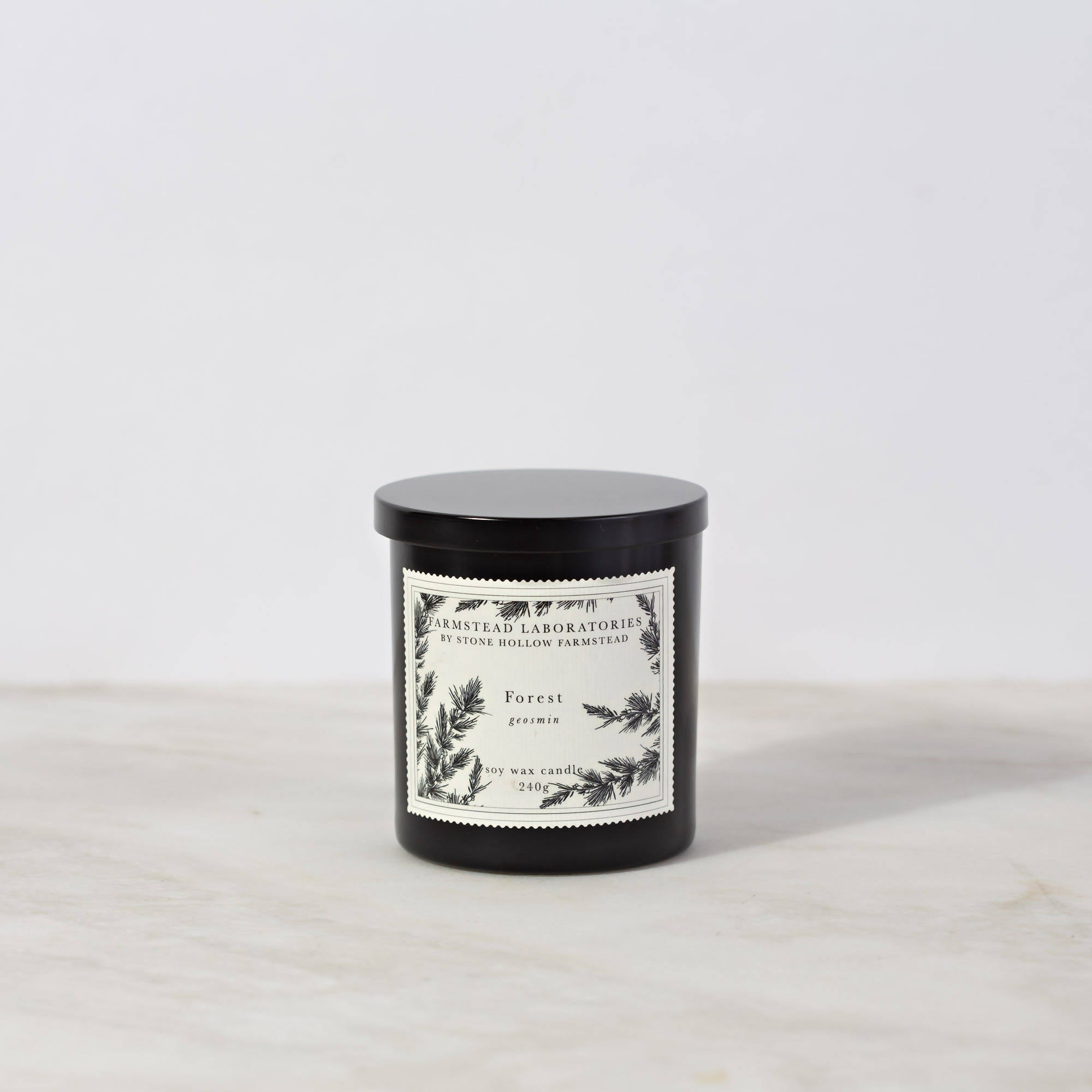 BOTANICAL SOY WAX CANDLE / FOREST