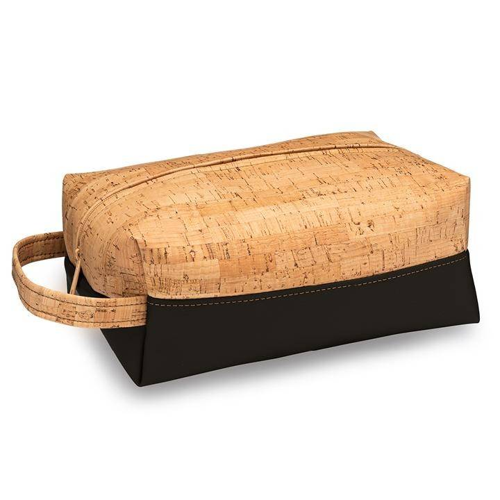 Dopp Toiletry Bag | Rustic Cork