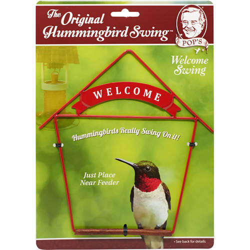 Pops Hummingbird Swing - Welcome