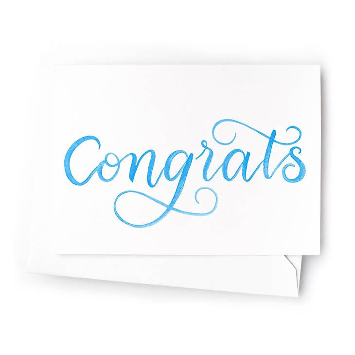 Congrats Mini Cards, Set of 6