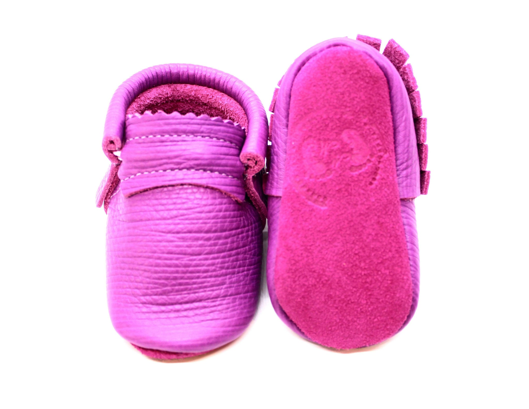 Raspberry Sherbert moccs -Limited Edition